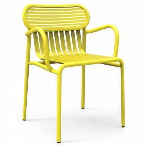 Week-End Bridge Armchair Set Of 2 - Yellow