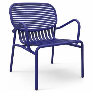 Week-End Garden Armchair Set Of 2 - Blue