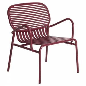 Week-End Garden Armchair Set Of 2 - Burgundy