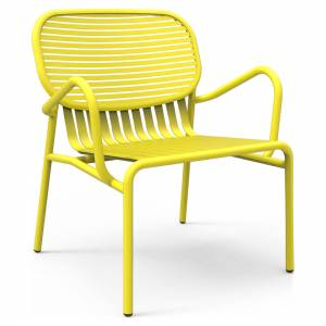 Week-End Garden Armchair Set Of 2 - Yellow