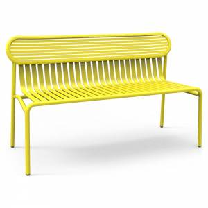 Week-End Garden Bench - Yellow