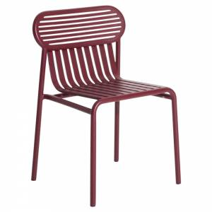 Week-End Garden Chair Set Of 2 - Burgundy