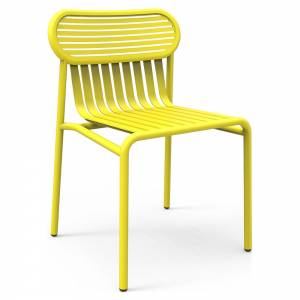 Week-End Garden Chair Set Of 2 - Yellow