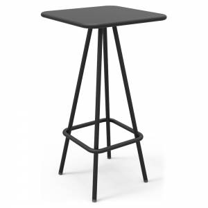 Week-End Garden High Bar Table - Black