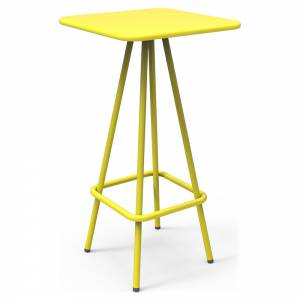Week-End Garden High Bar Table - Yellow