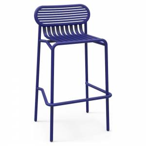 Week-End Garden High Stool Set Of 2 - Blue