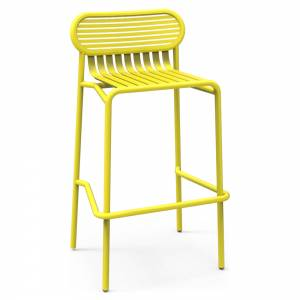 Week-End Garden High Stool Set Of 2 - Yellow