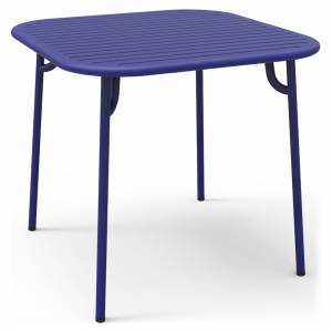 Week-End Square Garden Table - Blue
