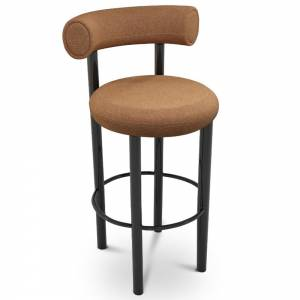 Fat Bar Stool - Melange Nap