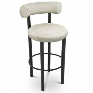 Fat Bar Stool - Royal Nubuck