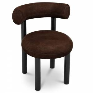 Fat Dining Chair - Royal Nubuck