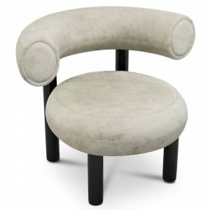 Fat Lounge Chair - Royal Nubuck