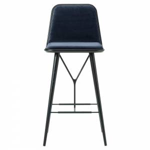 Spine Bar Chair - Harald 3, Black Lacquered Ash