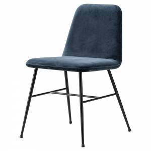 Spine Dining Chair - Harald 3, Black Metal