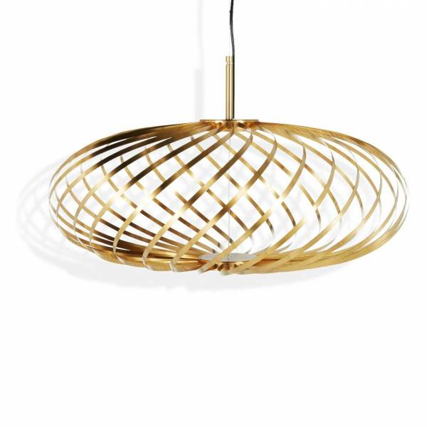Spring Brass Pendant - Small | Rouse Home