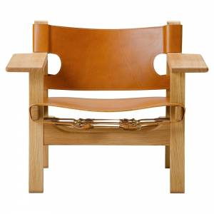 The Spanish Lounge Chair - Cognac Leather