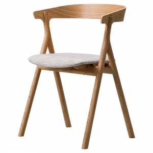 Yksi Dining Chair - Canvas 2, Oiled Oak