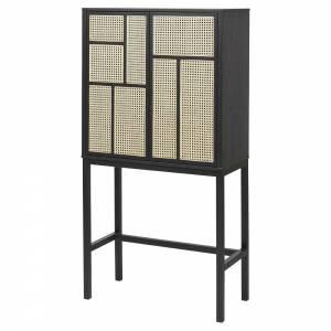 Air Cabinet - Black, Cane