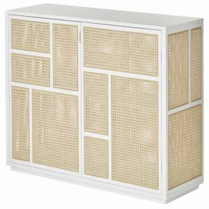 Air Sideboard - White, Cane