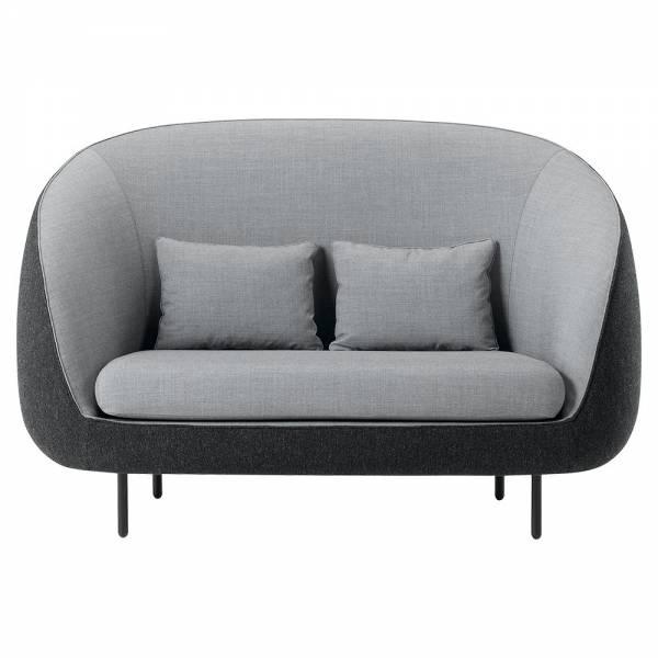 Haiku 2-Seater Sofa - Hallingdal 130, Remix 143   Rouse Home