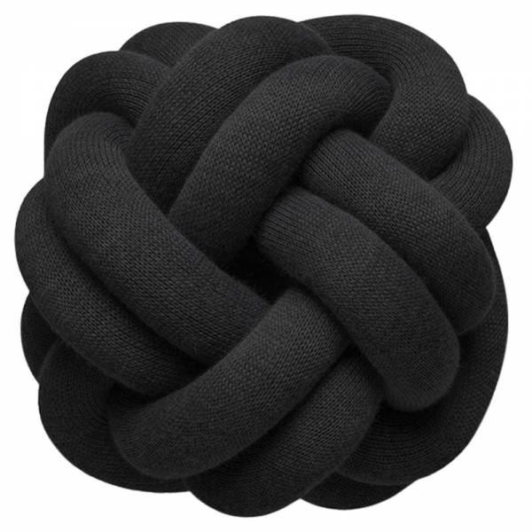 Knot Cushion, Set of 2 - Anthracite
