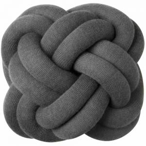 Knot Cushion, Set of 2 - Gray