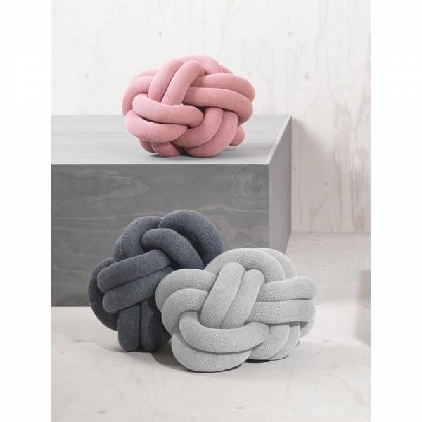 Knot Cushion, Set of 2 - Gray