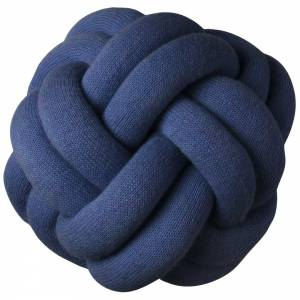Knot Cushion, Set of 2 - Navy