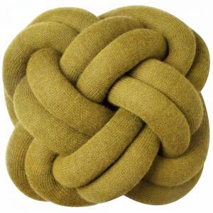 Knot Cushion, Set of 2 - Yellow