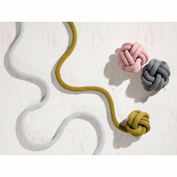 Knot Cushion, Set of 2 - Yellow