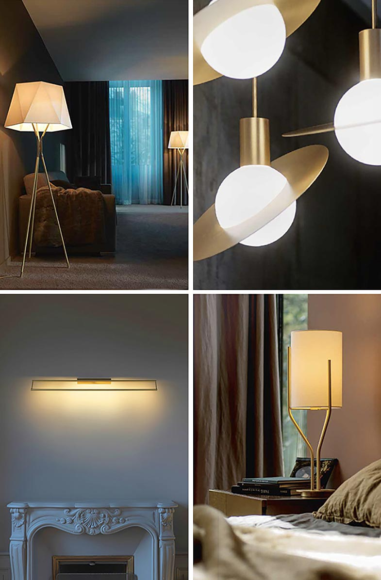 Solitaire Floor Lamp, Saturn Pendant, Link Wall Light, Arborescence Table Lamp | Rouse Home