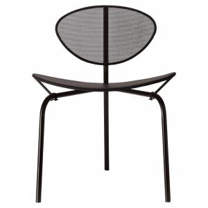 Nagasaki Dining Chair - Midnight Black Seat