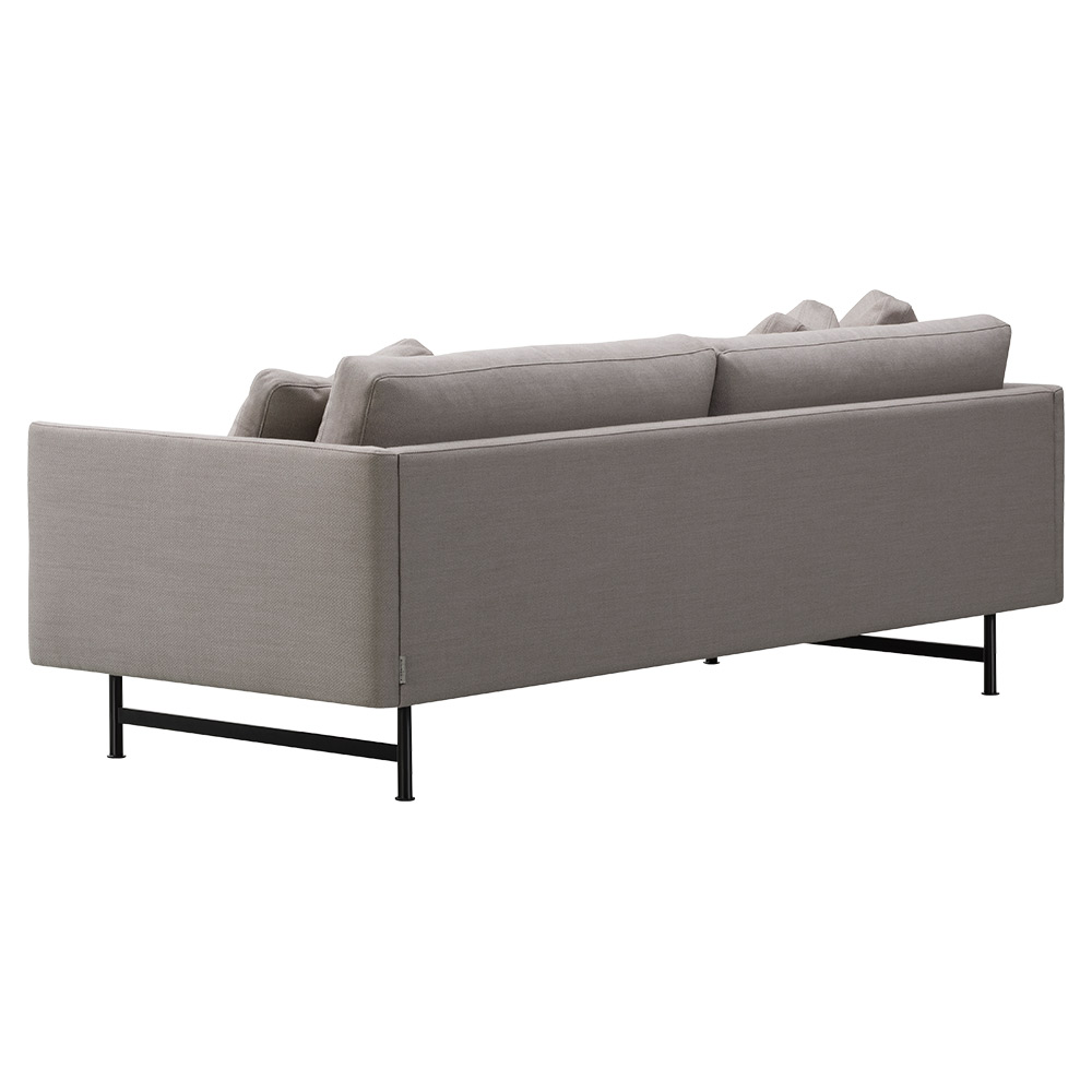 Calmo 80 2 Seater Sofa Metal Base