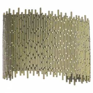 Deco Wall Sconce - Satin Brass