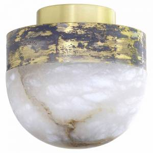 Lucid 200 Flush Mount - Honed Alabaster