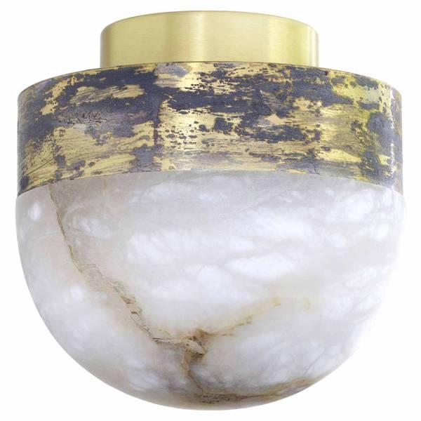 Lucid 200 Flush Mount - Honed Alabaster