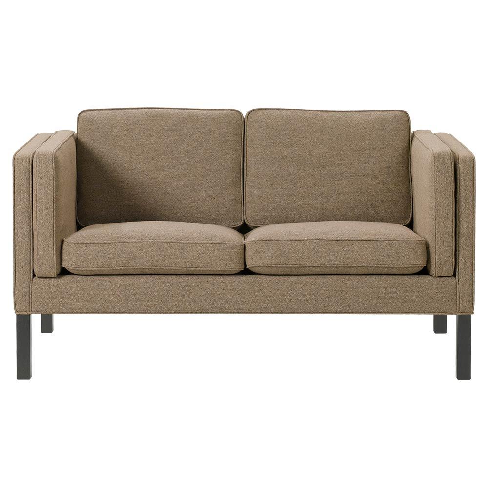 Tremendous Mogensen 2332 2 Seater Sofa Fabric Black Oak Machost Co Dining Chair Design Ideas Machostcouk