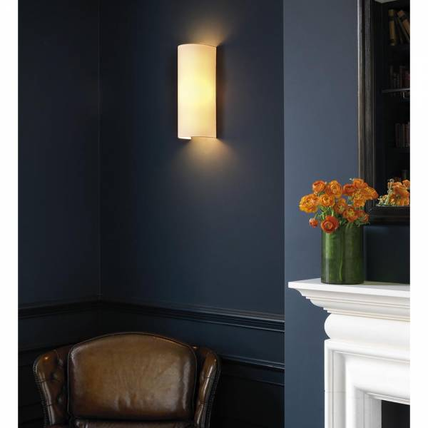 Wallwash Wall Sconce - Dove Gray Silk
