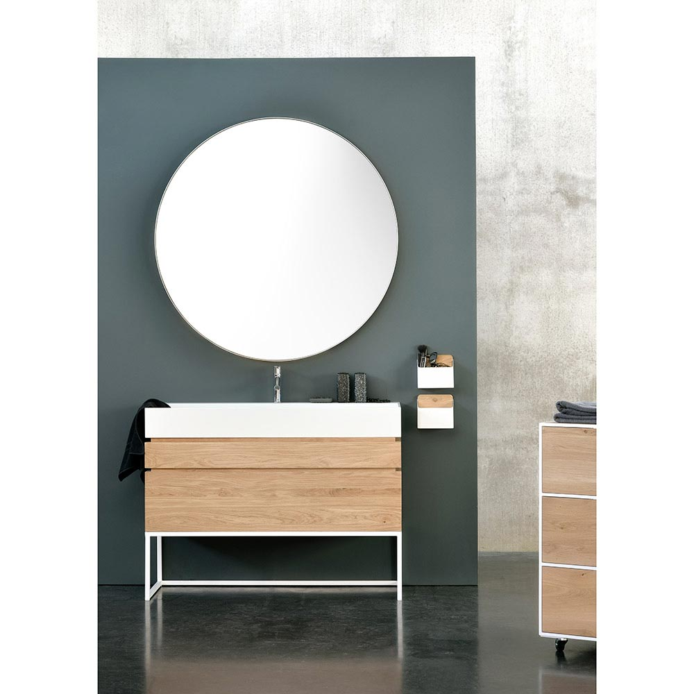 Layers Round Bathroom Mirror Rouse Home