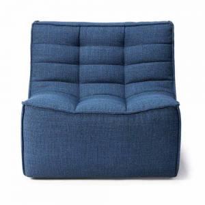 N701 1 Seater Sofa - Blue