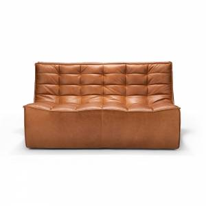 N701 2 Seater Sofa - Old Saddle
