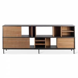Oscar Sideboard - 2 Doors, 3 Drawers - Teak