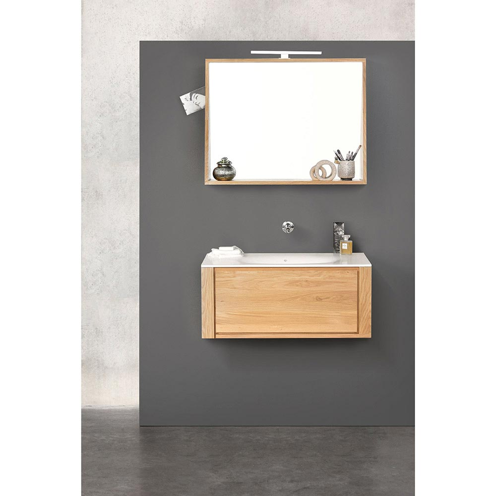 hanging vanity