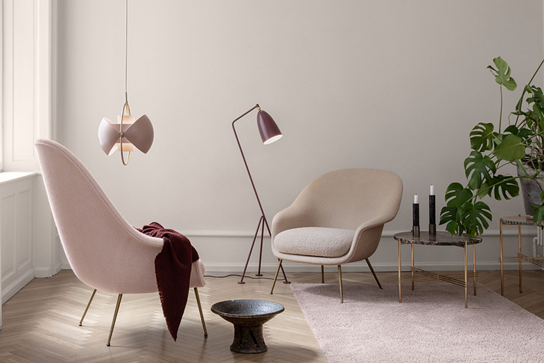 Gam Fratesi Bat Lounge Chair   Rouse Home