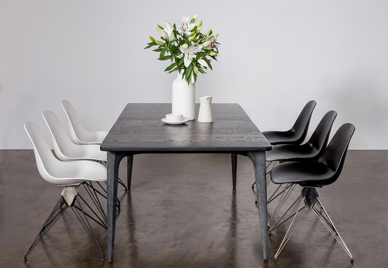 District 8 Salk Extendable Dining Table | Rouse Home