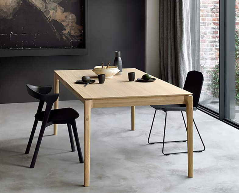 Ethnicraft Bok Extendable Dining Table | Rouse Home