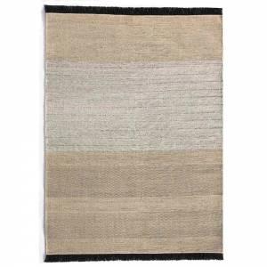 Tres Stripes Outdoor Rug - Black