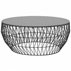 Coffee Table - Smoke Glass Top