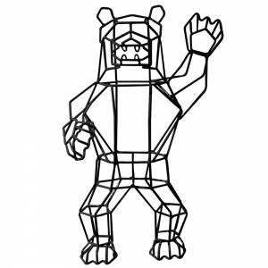 Marching Bear Sculpture