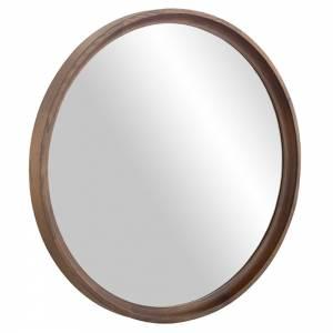 Distrikt Round Wall Mirror - Smoked